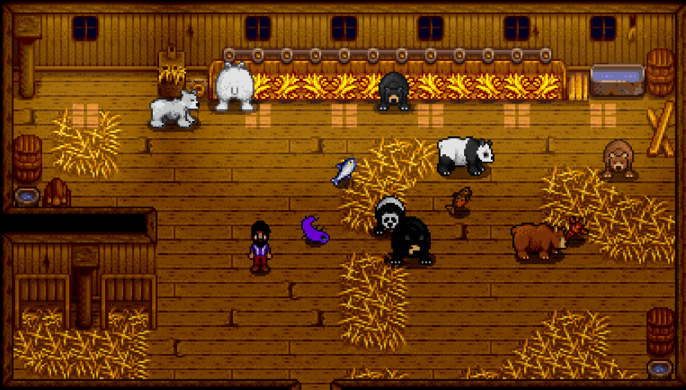 Bears In The Barn For Bfav Stardew Valley Mod Download