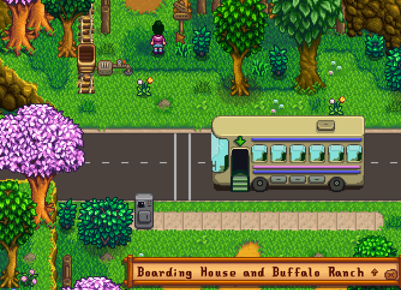 Boarding House and Bus Stop Extension - Stardew Valley Mod download