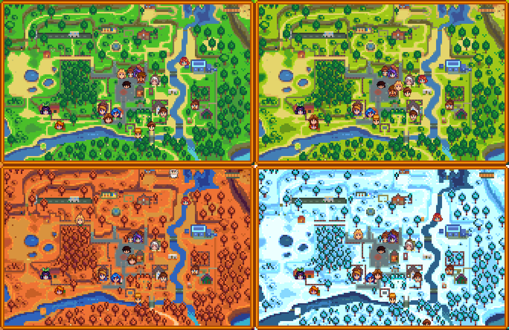 NPC Map Locations - Stardew Valley Mod download