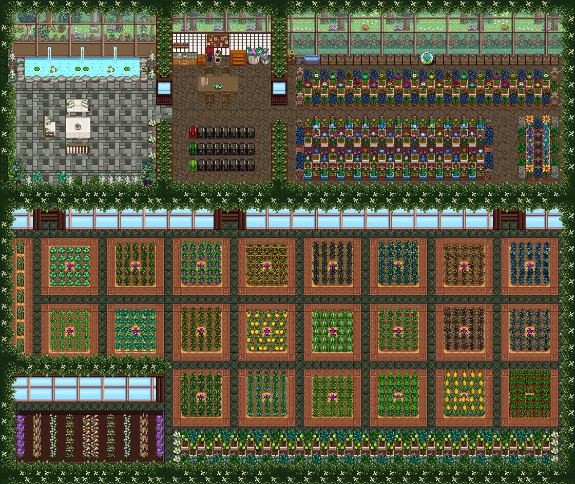 Pookachus Grand Greenhouse - Stardew Valley Mod download