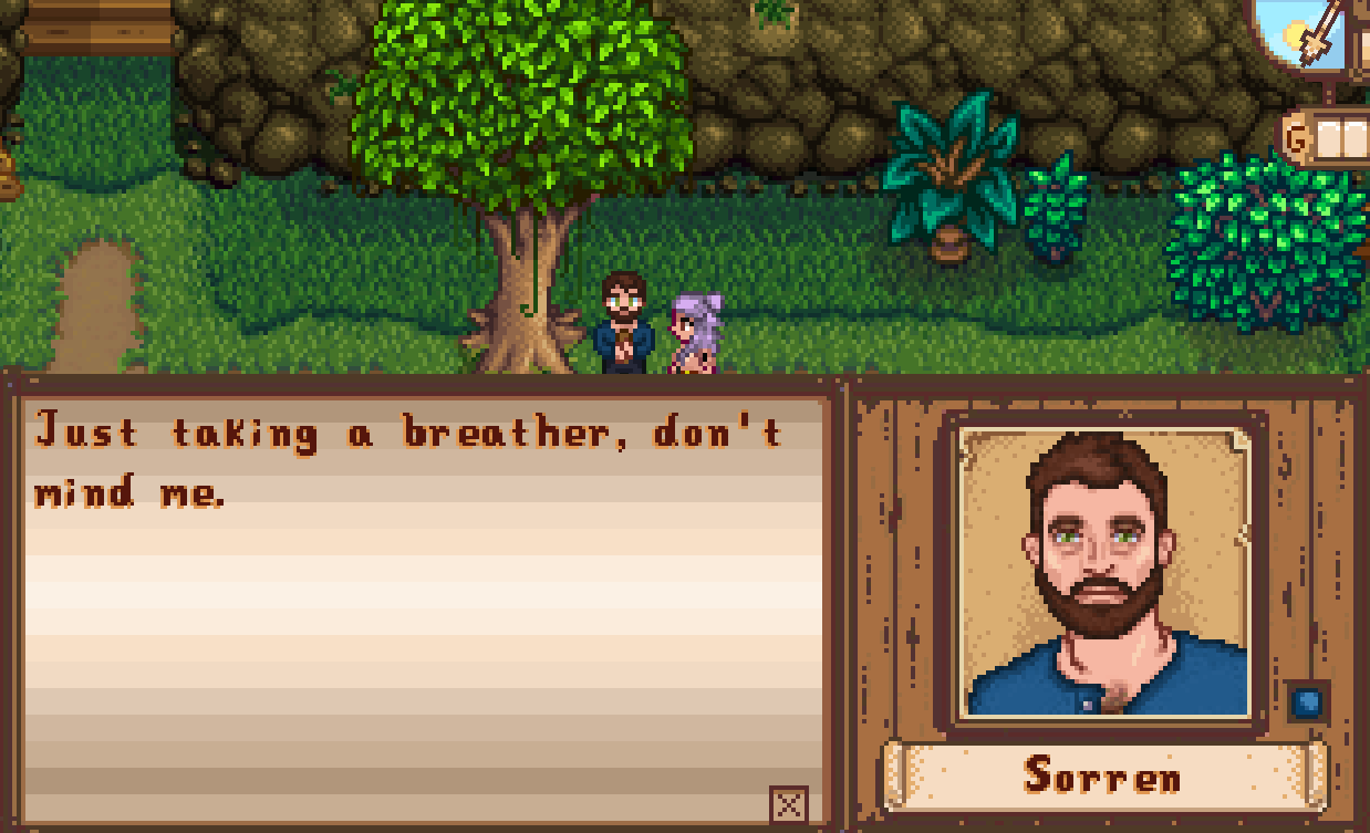 Sorren - Original NPC - Stardew Valley Mod download