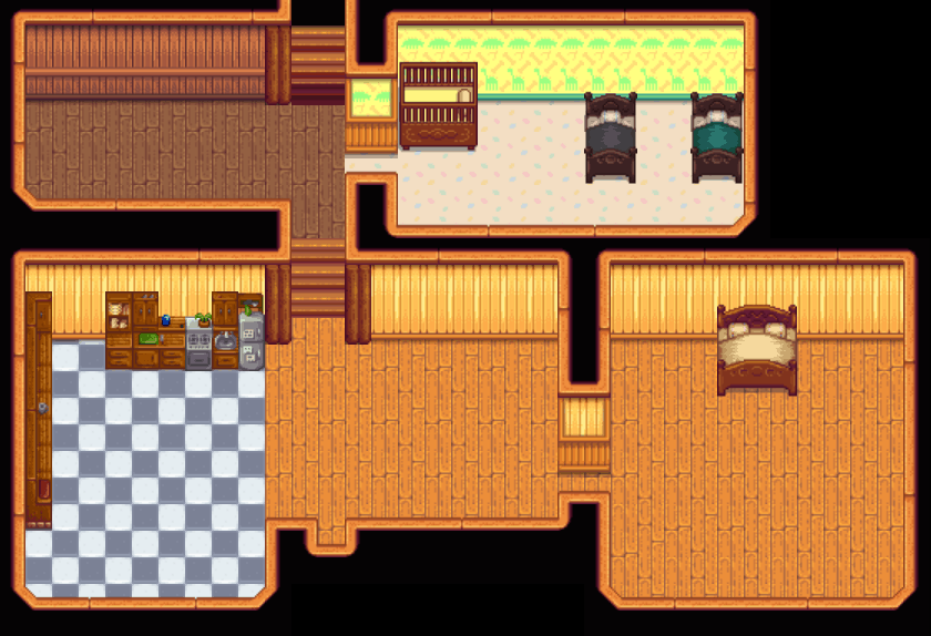 Froststar11 S Quality Of Life Farmhouse Expansions Stardew Valley Mod Download They can be upgraded, they dont have an animation like the main house does while its happening. stardew valley mods