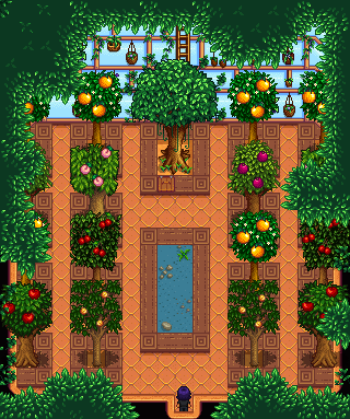 Treehouse Greenhouse Stardew Valley Mod Download Then we place some fruit trees so that they'll grow in time for next. stardew valley mods